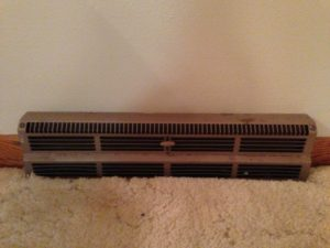 Before Picture for Rustoleum Vent Update